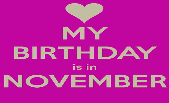 10 Keuntungan Orang yang Lahir Bulan November