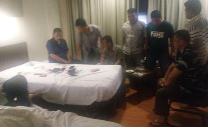 Penggerebekan Judi Pejabat Medan