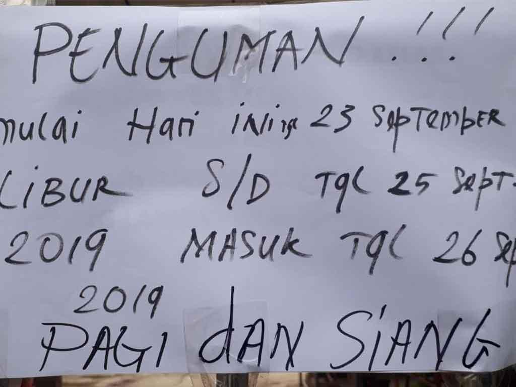 Dampak Asap Pekat Sekolah Libur 3 Hari Di Palembang Tagar