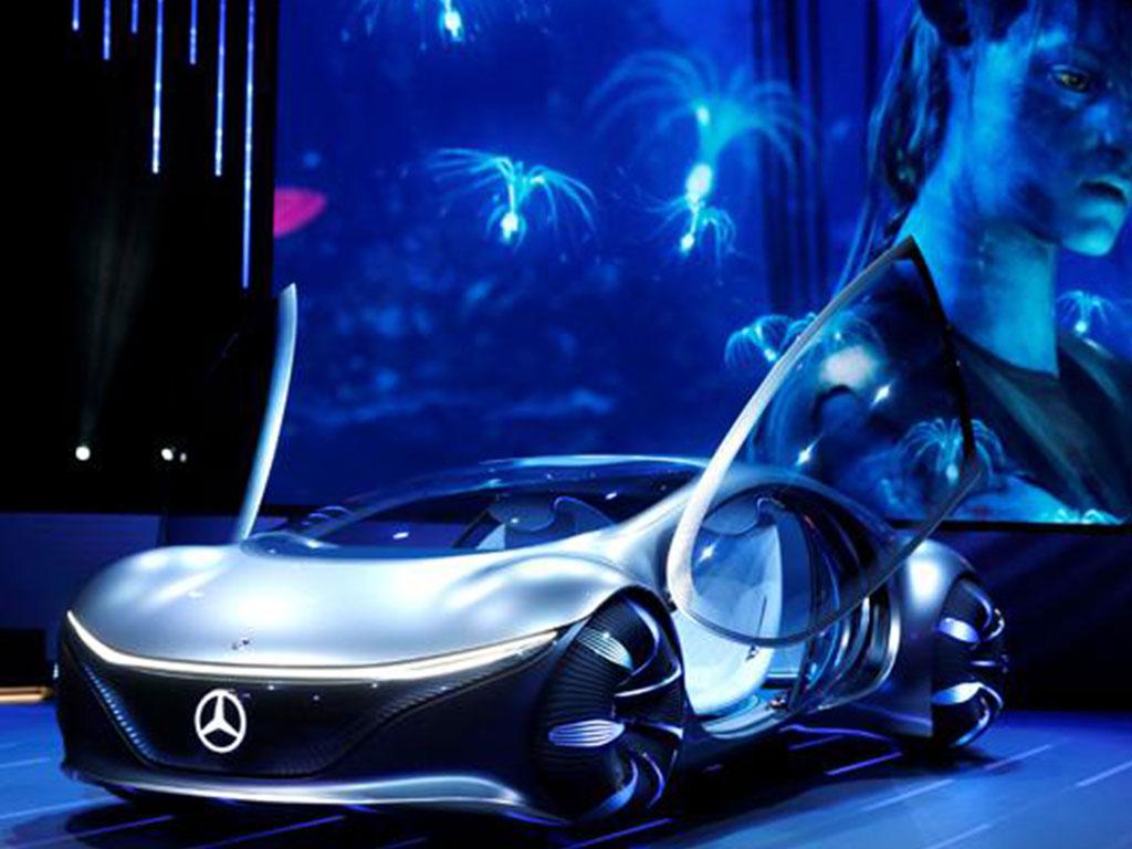 Mobil Otonom Mercedes-Benz